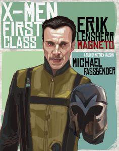 MAGNETO: ERIK LENSHERR by ~rocketraygun