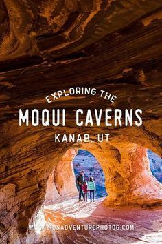 Exploring Moqui Cave