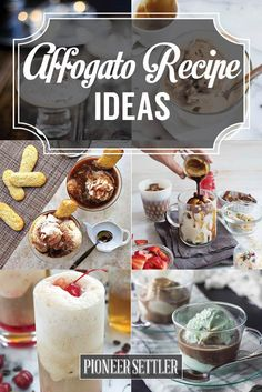 Affogato Recipe Ideas