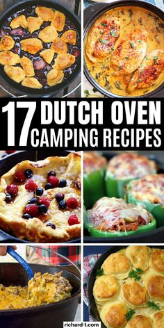 17 Easy and delicious dutch oven camping recipes you need to try on your next camping trip! These dutch oven recipes are amazing! Best Camping Meals, Dutch Oven Camping, Camping Recipes, Camping Foods, Backpacking Meals, Kayak Camping, Ultralight Backpacking, Camping Ideas, Best Dutch Oven