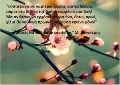 κικη δημουλα αποσπασματα - Αναζήτηση Google Kai, Greek Quotes, Sweet Words, My Memory, Happy Thoughts, My World, Love Story, Poems, Memories