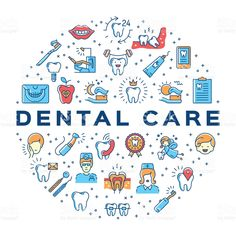 Colorful dentistry thin line art icons royalty-free stock vector art Dull Dental Implants Bridges Dentist Art, Dentist Clinic, Dental Assistant, Dental Hygienist, Dental Implants, Dental Health, Dental Care, Dental Wallpaper, Dental Photos