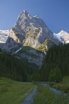 Early morning hike, Meiringen, Bern, Switzerland Copyright: Tracey Footer
