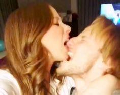 Barcelonas Ivan Rakitic & girlfriend Raquel Mauri eat each others face (Instagram Video)