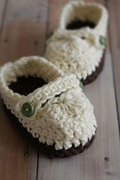 Crochet Loafers - Tutorial ❥ 4U // hf