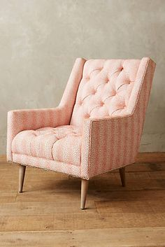 Yarn-Dyed Booker Armchair, Wilcox