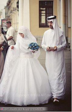 Beautiful Hijabi Brides   Hijab Chic