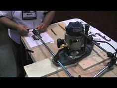 Router Pantograph - YouTube