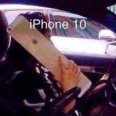 Launching iPhone 10 from Apple! Iphone 10, Iphone Meme, Apple Iphone, Haha Funny, Lol, Funny Stuff, Funny Shit, Random Stuff, Funny Memes