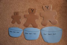 Looking for big and small activities for preschool?  This post has a big variety of size activities.