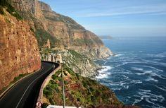 Chapman's Peak Drive, South Africa.