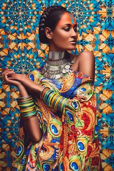 Couleur ethnique Kundalini Arts – Shoot by Anushka Menon Ethnic Fashion, African Fashion, African Inspired Fashion, African Style, Bohemian Fashion, Black Is Beautiful, Beautiful People, Beautiful Images, Costume Africain