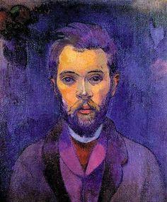 Art Pics Channel (@ArtPicsChannel) | Twitter / Paul Gauguin - Portrait of William Molard