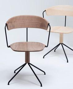 Good Ronan + Erwan Bouroullec Subtly Carve Uncino Chair For Mattiazzi Home Design Ideas