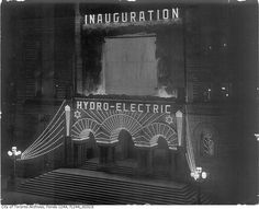 Toronto City Hall, circa at Queen St. West and Terauley St. (now Bay St.) celebrating the launch of citywide hydro electric power. Only pockets of downtown had had power starting in Photo: City of Toronto Archives. Toronto Ontario Canada, Toronto City, Landscape Photos, Landscape Photography, Hydroelectric Power, Canadian History, North York, Vintage Photographs, Vintage Photos