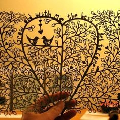 A behind the scenes look at creating beautiful paper cuttings