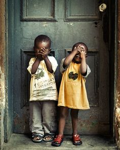children living in poverty find joy and happiness in simple things. We need to learn from them.