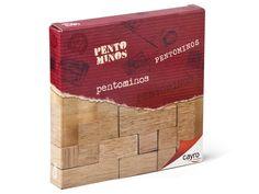 Pentominos de madera - www.mentesdiferentes.com