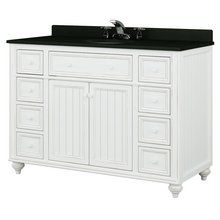 "View the Sagehill Designs CR4821D Cottage Retreat 48"" Bathroom Vanity Cabinet Only at FaucetDirect.com."