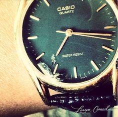 love my casio watch