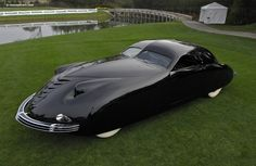 1938 Phantom Corsair. Oh you know.. Just going out to the market to purchase some groceries.