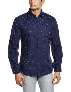 Wrangler Men's Casual Shirt (8907222395964_WRSH6119_Small_Navy) Wrangler http://www.amazon.in/dp/B01AULTFYK/ref=cm_sw_r_pi_dp_pEb7wb0RWZ82A