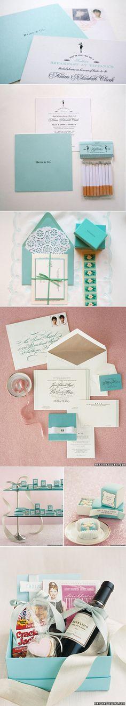 Tiffany & Co. themed party