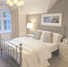 69 Trendy Ideas Home Bedroom Master Dreams Guest Rooms Dream Rooms, Dream Bedroom, Home Bedroom, Bedroom Decor, Master Bedroom, Bedroom Frames, Bedroom Ideas Grey, Cabin Bedrooms, Calm Bedroom