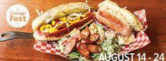 Sausage Fest in Halifax! Hot Dog Buns, Hot Dogs, Canadian Beer, Sausage, Ethnic Recipes, Food, Sausages, Essen, Meals