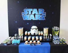 "Star Wars / Birthday ""Star Wars Birthday Party"" | Catch My Party"