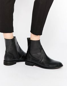 ASOS ALOUD Leather Chelsea Boots