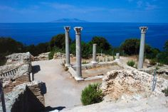 Giannutri - roman temple