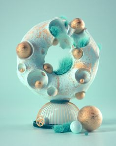 Nonsense in 3D N°81-90 on Behance