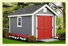 8 12 Storage Shed Plans Blueprints For Building A Spacious Gable Shed In 2020 Shed Blueprints Shed Plans Building A Shed