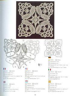 вязаные идеи вконтакте ажуры схемы мотивы кайма вязание