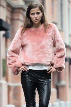 Best Outfit Ideas For Fall And Winter  #pink #pastel #outfit #streetstyle