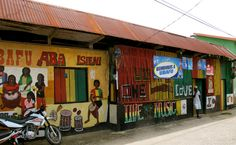 Spot for sweet, sweet Garifuna music Livingston,Guatemala