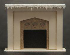 Este kit de la escala de barrio (1:48) hace una chimenea hermosa, detallada con 3 casas de brillo que se encajan en cualquier decoración! Nota: esta es una casa de muñecas miniatura KIT.  Tamaño: 1-3/16(30mm) h x 1-3/8w (35mm)  El kit incluye:  -Láser cortar, archivo de la Junta para hacer una chimenea -rodea a azulejo -brick Trashoguero (no se muestra en las fotos) -ribete de carámbano del corte del laser -piezas para hacer 3 casas y 4 árboles del corte del laser -brillo muy fino -...