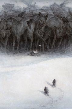 wolveswolves:  By Rovina Cai http://www.rovinacai.com/portfolio/tom-thom/