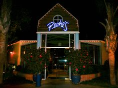 Peohe's Restaurant, Coronado island, San Diego, California. One of the best places I've ever eaten. Fantastic food and service with amazing views of the San Diego skyline (especially at night), if you ever go to San Diego you MUST eat here.