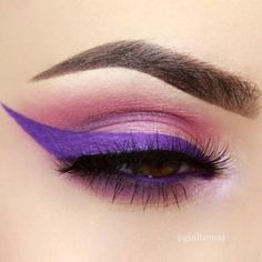 We love #BHBeauty @giuliannaa's sharp purple eyeliner & blended #eyeshadow  She created this look using our Modern Mattes - 28 Color #EyeshadowPalette