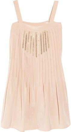 TIBI Silk Crepe De Chine #Playsuit #dress