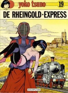 OK, not really a poster ... but ... I do like it. Yoko Tsuno - 19 - De Rheingold-Express