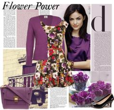 """""""Flower power"""" by sissydoll ❤ liked on Polyvore"""
