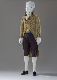 Reigning men exhibit LACMA 1790 suit