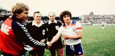 Norway beats England on September 1981 at Ullevaal. Norway, Beats, September, England, British