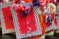 """You Are So """"Sweet"""" To Me Valentine's Baby Food tags"""