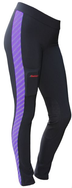 e55ec5d7cc832 Women's Reflect-O Endurance Riding Tights with Leg Stripe (close-out, only  4 left!)