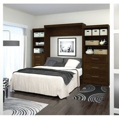 """Check out our web site for more info on """"murphy bed ideas space saving"""". It is actually an outstanding place to learn more. Queen Murphy Bed, Murphy Bed Desk, Murphy Bed Plans, Modern Murphy Beds, Upholstered Platform Bed, Panel Bed, Decorate Your Room, Space Saving, Decorating Your Home"""