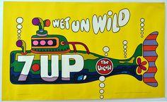 Seven Up, The Uncola, Wet Un Wild, 1970